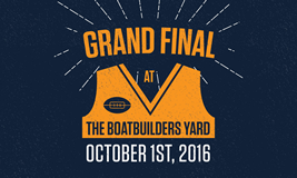 AFL Grand Final at The Boatbuilders Yard