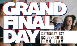 AFL Grand Final Day at the Wharf