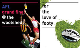 AFL & NRL Grand Finals at The Woolshed