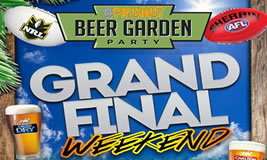 Grand Final Weekend at the Precinct Tavern