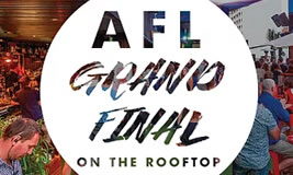AFL Grand Final Day at the Aviary
