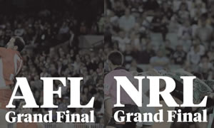 AFL & NRL Grand Final Day at Darling & Co