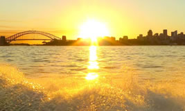 Grand Final Day with Sydney Harbour Escapes
